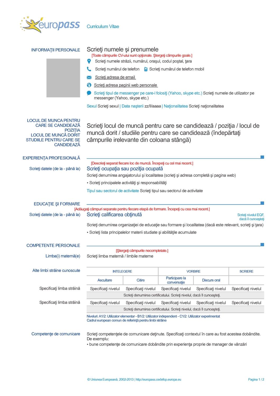 3 Plantillas Para Hacer Tu Curriculum En Ingles