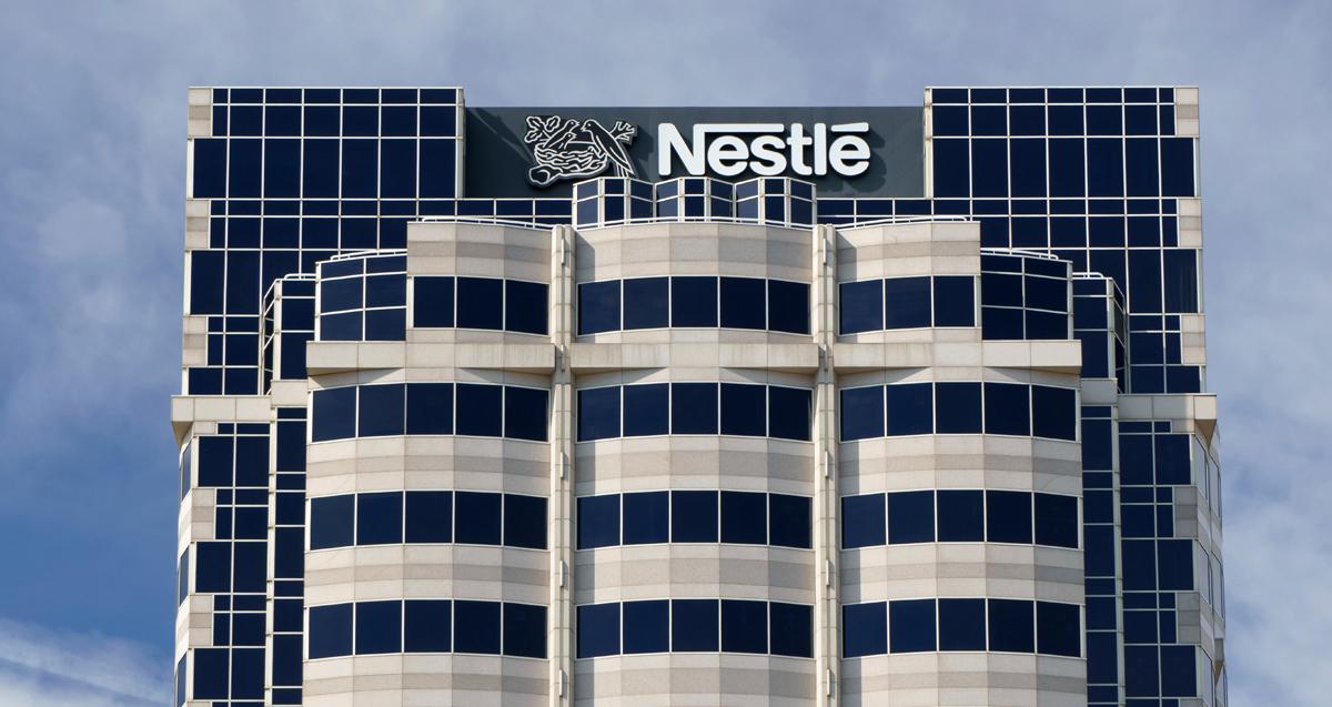 Nestlé. Fuente: Istock