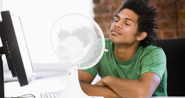 El calor puede suponer un problema a la hora de arreglarse
