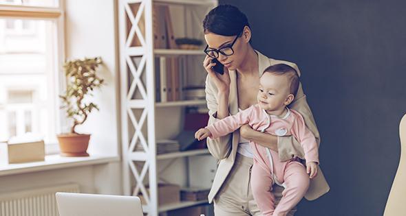 Ayuda para madres solteras (iStock)